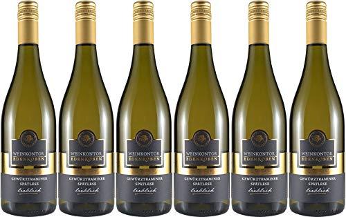 Weinkontor Edenkoben (Edenkoben) Gewürztraminer Spätlese 2018 Lieblich (6 x 0.75 l)