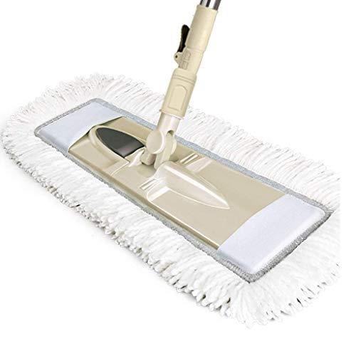 Magic Mop, Dust Mop für Laminat Flachboden für saubereren Laminatboden Holzfliesen und Hartholz