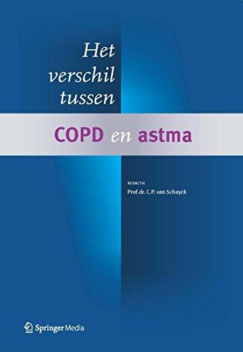 Het verschil tussen COPD en astma
