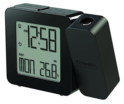 Oregon Scientific RM338P Reloj proyector con despertador y temperatura...