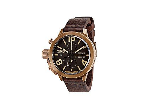 U-Boat Classico Automatik Uhr, Bronze, 50mm., Lederband, 8064