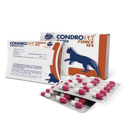 Bioiberica F104300 Condrovet Force Ha Gatos - 45 Comprimidos ✅