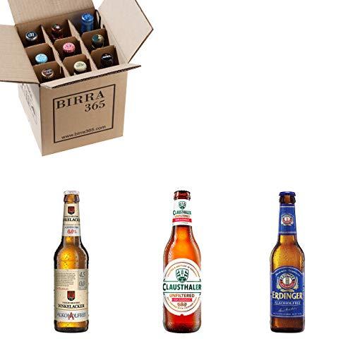 Caja con las mejores cervezas sin alcohol del mundo. Caja con 9 cervezas para disfrutar también con cervezas sin alcohol.