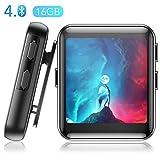 16Go Montre MP3 Bluetooth 4.0 Touche Tactile Ecran Couleur 1.5'' AGPTEK, Lecteur Musical Sport avec...