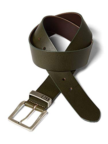 Tom Tailor Classic Men's Leather Belt 4.0 W90 Olive