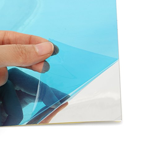 MJJEsports 40 Stks Spiegel PVC Muur Vierkante Stickers Decor Zelfklevende Decoratie 15 * 15cm
