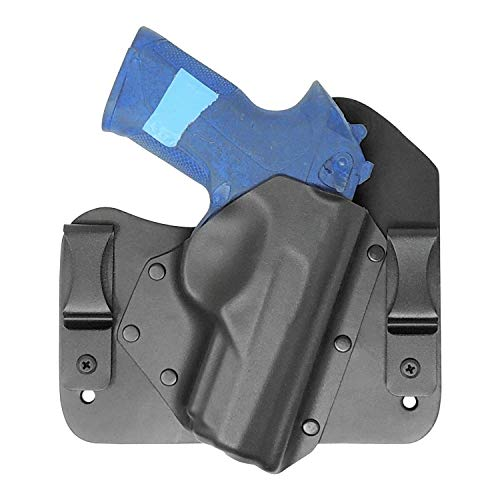 Tuckable Hybrid Holster IWB Right Hand Black Fits: Beretta Px4 Storm Full Size, Compact and Sub Compact