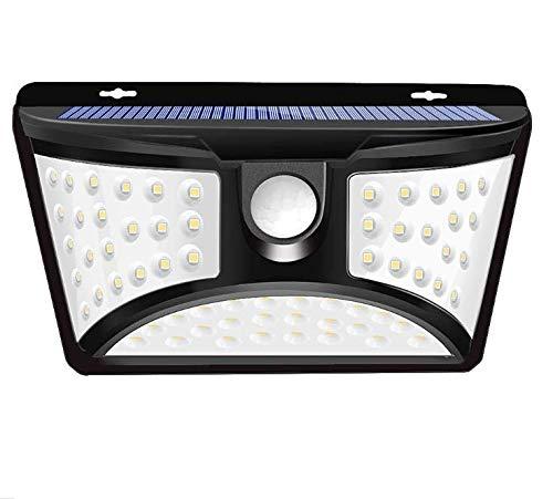 センサーライト 人感 人感センサーライト 防犯型4モード IP65防水・防塵 led人感セ150°角度調節可能 壁掛け庭先 玄関周りなど対応 車庫 屋外用 防犯ライト (68LED 人感)