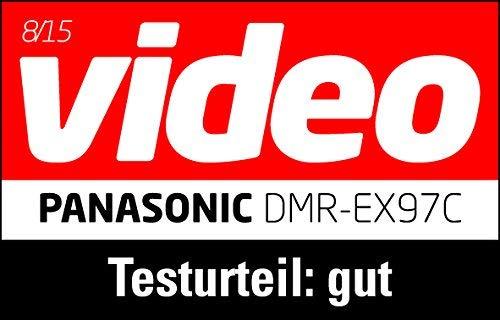 Panasonic DMR-EX97CEGK DVD-Rekorder (mit 500 GB Festplatte, für DVB-C, HDTV-Empfang, CI+ Slot, USB 2.0, HDMI, VIERA Link, Timeshift) schwarz