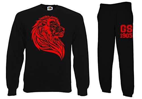 TRVPPY heren 2-delige set Galatasaray - aan beide zijden bedrukte trui + joggingbroek - in vele kleuren - trainingspak joggingpak hoodie