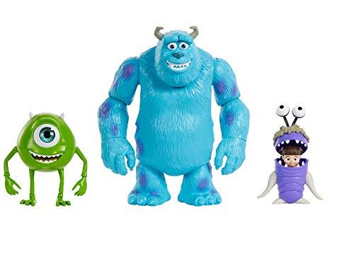 Disney Pixar Toy Story, Figuras Básicas Sulley, Mike Wazowski y Boo, Juguetes para niños de 3 años en adelante