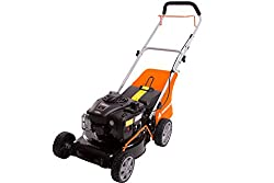 Easy manoeuvrable, easy starting, fuel efficient 125cc Briggs & Stratton 300E Series engine with the prime'n pull E-Z starting system robust high-quality steel deck, 400 m² recommended garden size Ergonomic soft grip handle for comfortable use Easily...
