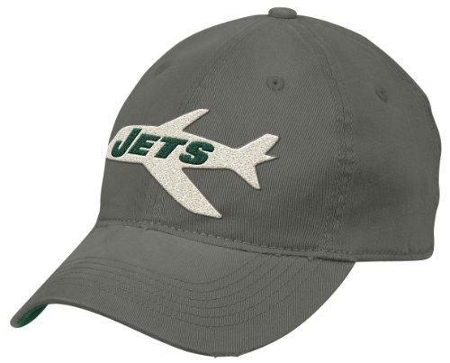 Reebok NFL New York Jets Ende Zone Sekundäre Farbe Flex Slouch Hat–en13z, Herren, schwarz