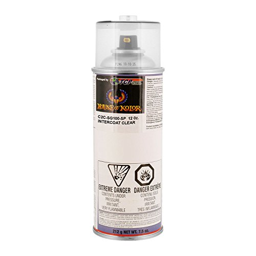 House of Kolor Sg100 Intercoat Klear Midcoat Clearcoat Low Voc, Spray Can