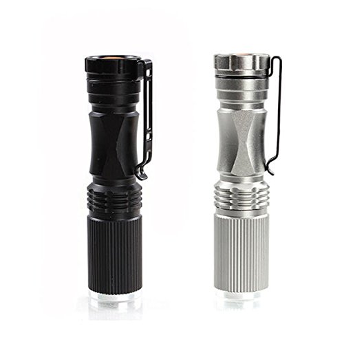 Bazaar Meco XPE-Q5 600 Lumen-7W Zoomable LED Taschenlampe für 1xAA 1.2V