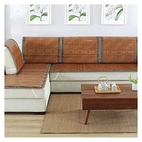 ALGWXQ Colchón de Ratán de Hierba Durable A Prueba de Polvo Estera de Bambú de Verano Usado para Cuarto, Sofá, Silla, Varias Especificaciones (Color : B, Size : 70X120cm)