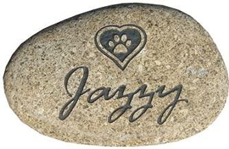 Pet memorial stone grave marker headstone 7
