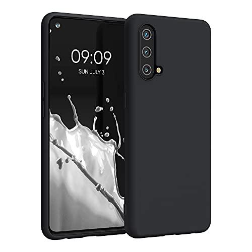 kwmobile Hülle kompatibel mit OnePlus Nord CE 5G - Hülle Silikon - Soft Handyhülle - Handy Hülle in Schwarz matt