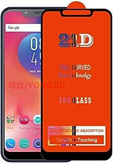 واقيات شاشة الهاتف - واقي شاشة 21D للهاتف الخلوي من الزجاج المقوى بالكامل لهاتف Infinix smart 2 2HD 2Pro 3 3Pro 4 4C/ZERO5...