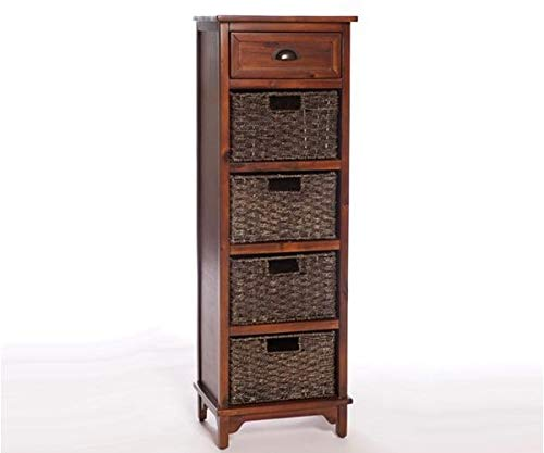 Limitless Home Graham 5 Drawer Chest – Dark