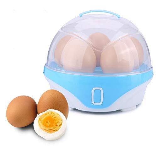 LMFLY Egg Eierkocher Einlagige Hohe Kapazität Elektrischer Eierkocher Haushalt Multifunktion Frühstücksmaschine Mini Eierkocher für Gekochte Eier, Heiße Milch