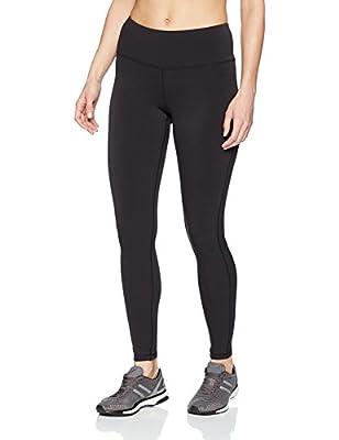 Amazon Essentials Women's Performance Mid-Rise Full-Length Active Legging, Black, Medium