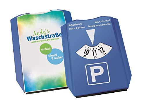 Werbeset: 50 Parkscheiben aus ABS inkl. Eiskratzer und Eisbrecher, mit Ihrem Firmenlogo/Ihrer persönlicher Werbebedruckung