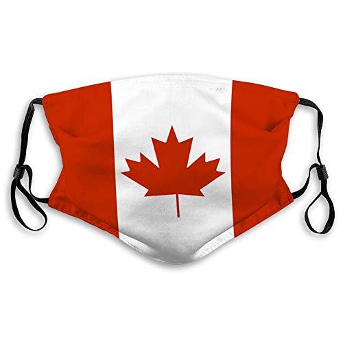 Anti-Staub-Gesichtsschutz Mundschutz Atmungsaktive Mundschutz Staatsflagge von Kanada Außenabdeckung