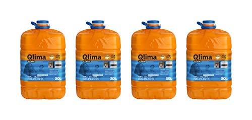 Qlima Combustibile liquido per stufe universale KRISTAL 4 taniche (80 LITRI)
