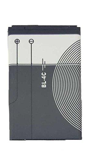 Todobarato24h Bateria BL-4C Compatible Nokia 1006, 1202, 1203, 1661, 1662, 2220 Slide, 2220s, 2228 CDMA, 2650c, 2650 Classic 860 mAh