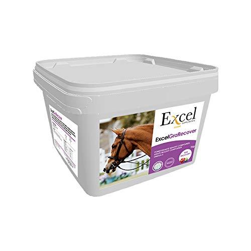 Excel Supplements Europe Excel GraRecover 1Kg   Suplemento para Caballos   Suplemento Muscular   Recuperación Muscular   Cuidado del Caballo   Salud del Caballo   Previene calambres