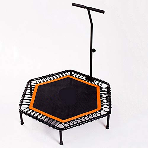 ZCXBHD Fitness trampoline met stang – ideaal voor cardiotraining thuis – training – stille rebound