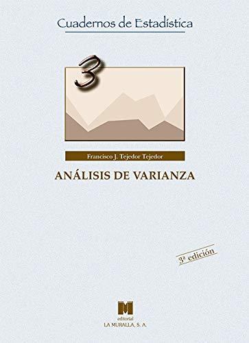 Análisis de varianza (Cuadernos de Estadística)