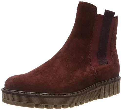 Gabor Shoes Damen Fashion Stiefeletten, Rot (Dark-Red (Uni) 15), 42 EU