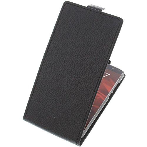 foto-kontor Tasche für Ulefone Gemini Pro Flipstyle Schutz Hülle Handytasche schwarz