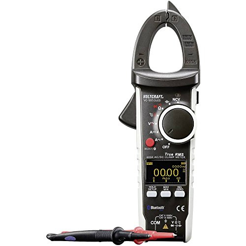 VOLTCRAFT VC-595OLED Stromzange kalibriert (ISO) digital OLED-Display CAT III 600 V, CAT II 1000 V Anzeige (Counts): 60