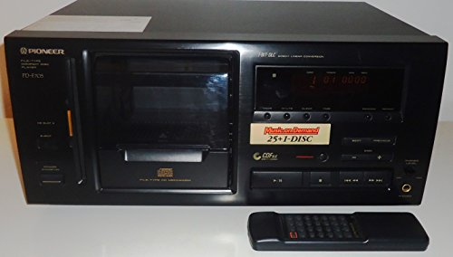 Pioneer PD-F705 26 Disc CD Changer Complete with Remote AV Cables and Instruction Manual - Compact Disc - Music