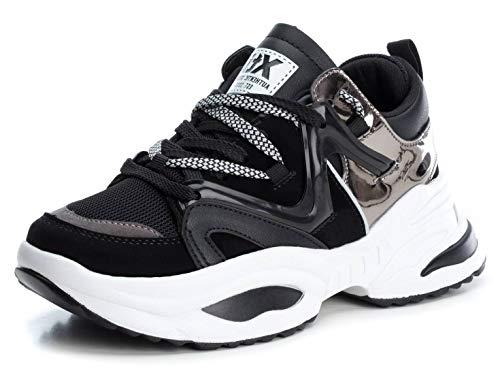 XTI 49523, Zapatillas Mujer, Negro (Negro Negro), 39 EU