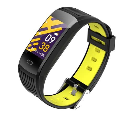 Reloj inteligente M9s,Monitor de ritmo cardíaco del reloj de la aptitud,Rastreador de la actividad del podómetro,Pulsera inteligente del análisis del sueño,Reloj deportivo impermeable IP67