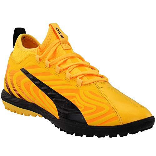 PUMA Mens One 20.3 Turf Soccer Cleats - Yellow - Size 8 D