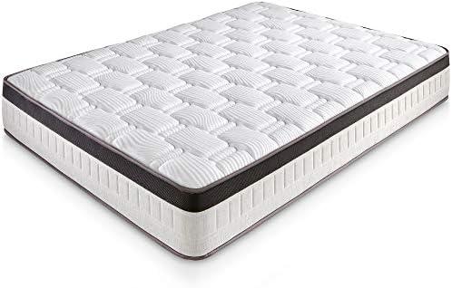 marckonfort Colchón Supreme 135X190 Viscoelástico | 27 cm de Altura | Viscoelástica | Foam AirSistem | Tratamiento SANITIZED®