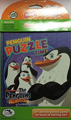 LeapFrog Tag Buch: Die Pinguine von Madagaskar Pinguin Puzzle Time (funktioniert mit dem LeapReader