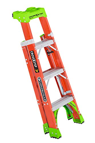 Louisville Ladder FXS1504, 4-feet, Orange