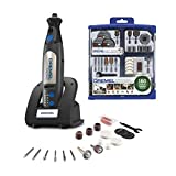 Dremel 8050-N/18 Micro Cordless Rotary Tool Kit with 710-08 All-Purpose Rotary Tool Accessory Bundle (160 Pieces) (2 Items)