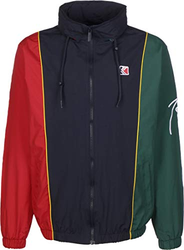 Karl Kani Retro Block Chaqueta de deporte navy/red/green/yellow/white