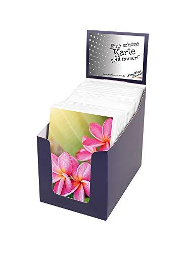 Paperstyle 49-0160 wenskaarten blanco in een display met 60 motieven inclusief envelop
