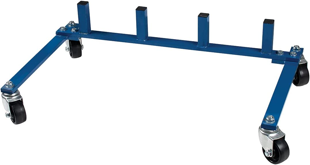 United Pacific Storage Cart for Dolly low-pricing Vehicle Jacks Positioning Over item handling