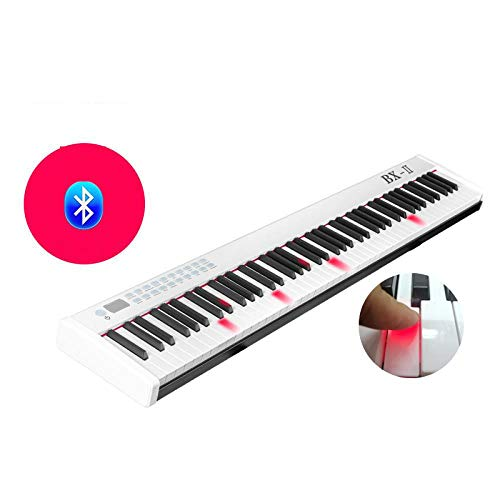 Amazing Deal FJFJFJ 88 Key USB Midi Digital Electronic Controller Keyboard Piano Musical Instrument ...