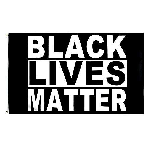 PringCor Large 3x5FT Flag Black Lives Matter BLM One Love Protest Peace I Can't Breathe