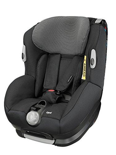 Bébé Confort Opal Seggiolino Auto 0-18 kg Reclinabile, Gruppo 0+/1, 0-4 Anni, Colore Black Raven